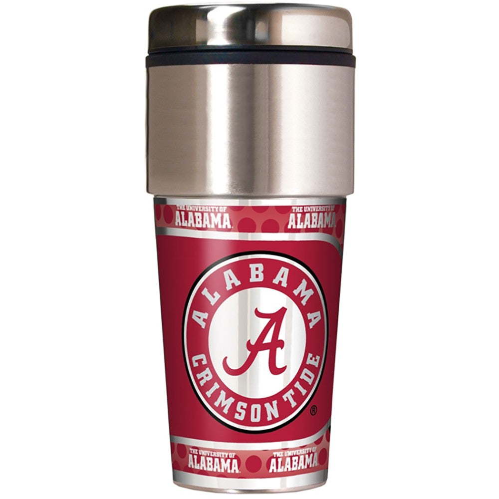 Alabama Crimson Tide Metallic Tumbler