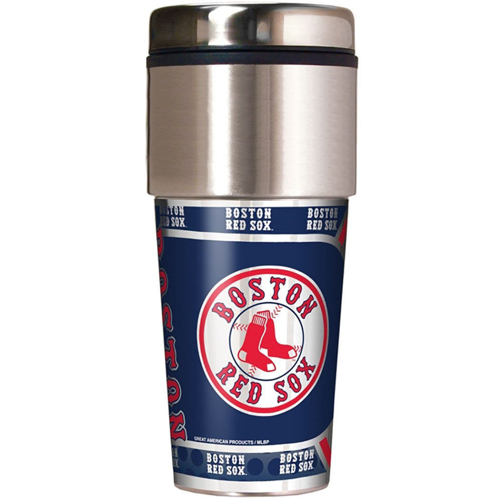 Boston Red Sox Metallic Tumbler