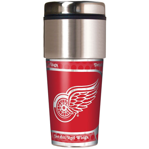Detroit Red Wings Metallic Tumbler