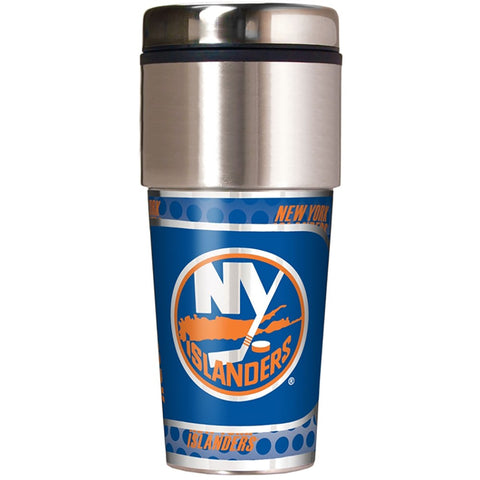 New York Islanders Metallic Tumbler