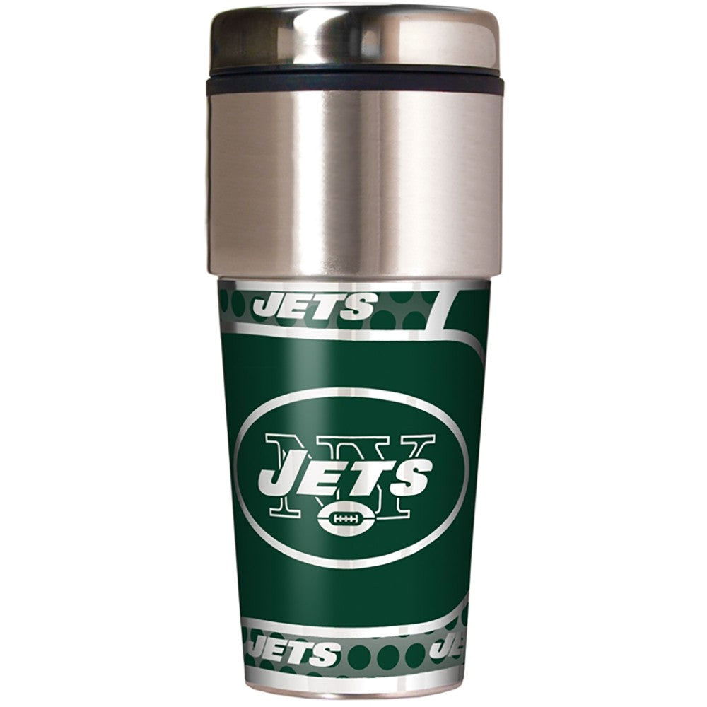 New York Jets Metallic Tumbler
