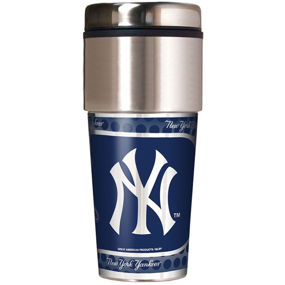 New York Yankees Metallic Tumbler