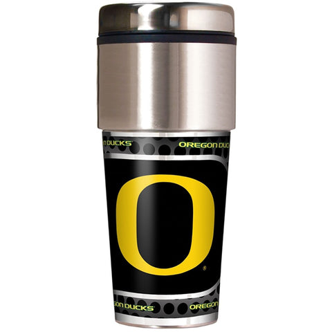 Oregon Ducks Metallic Tumbler