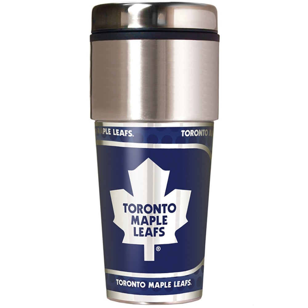 Toronto Maple Leafs Metallic Tumbler