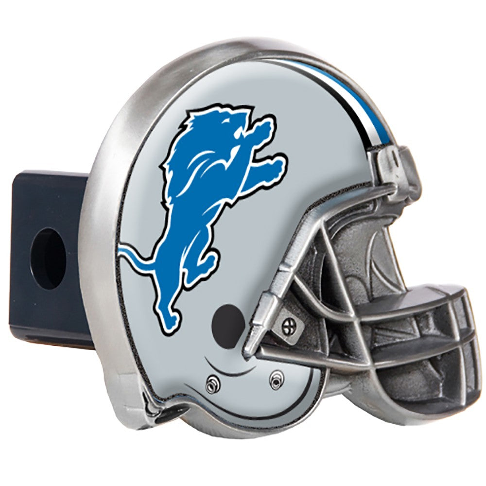 Detroit Lions Pewter Hitch Cover