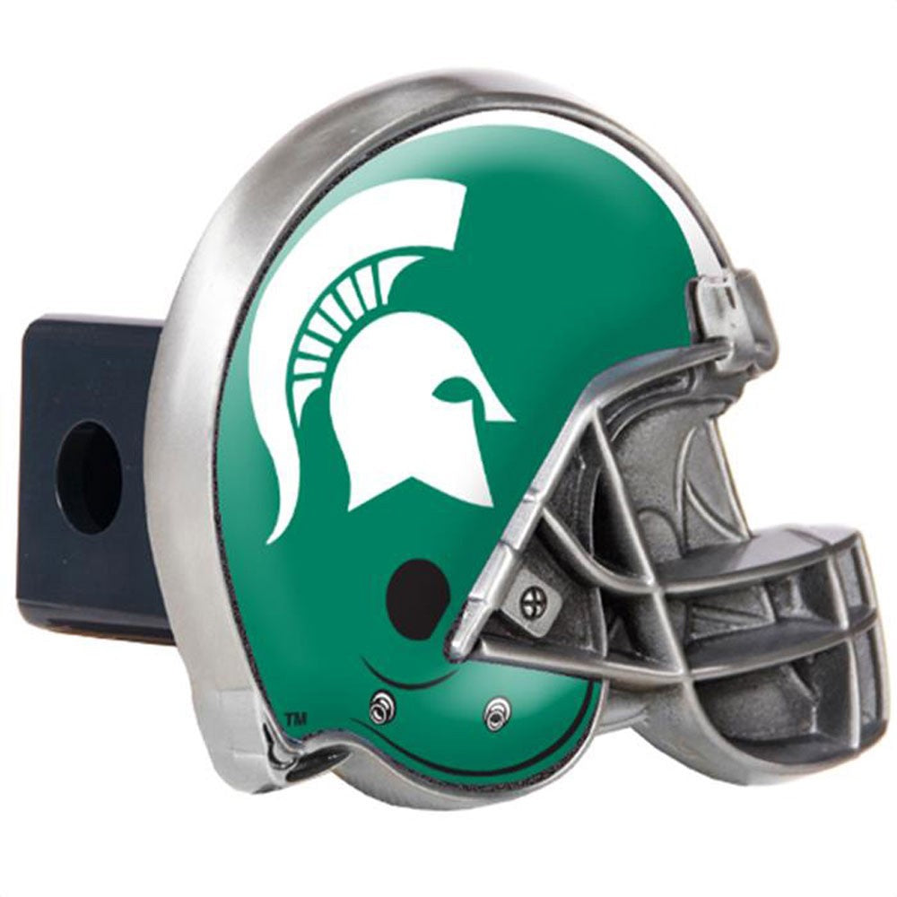 Michigan State Spartans Pewter Hitch Cover