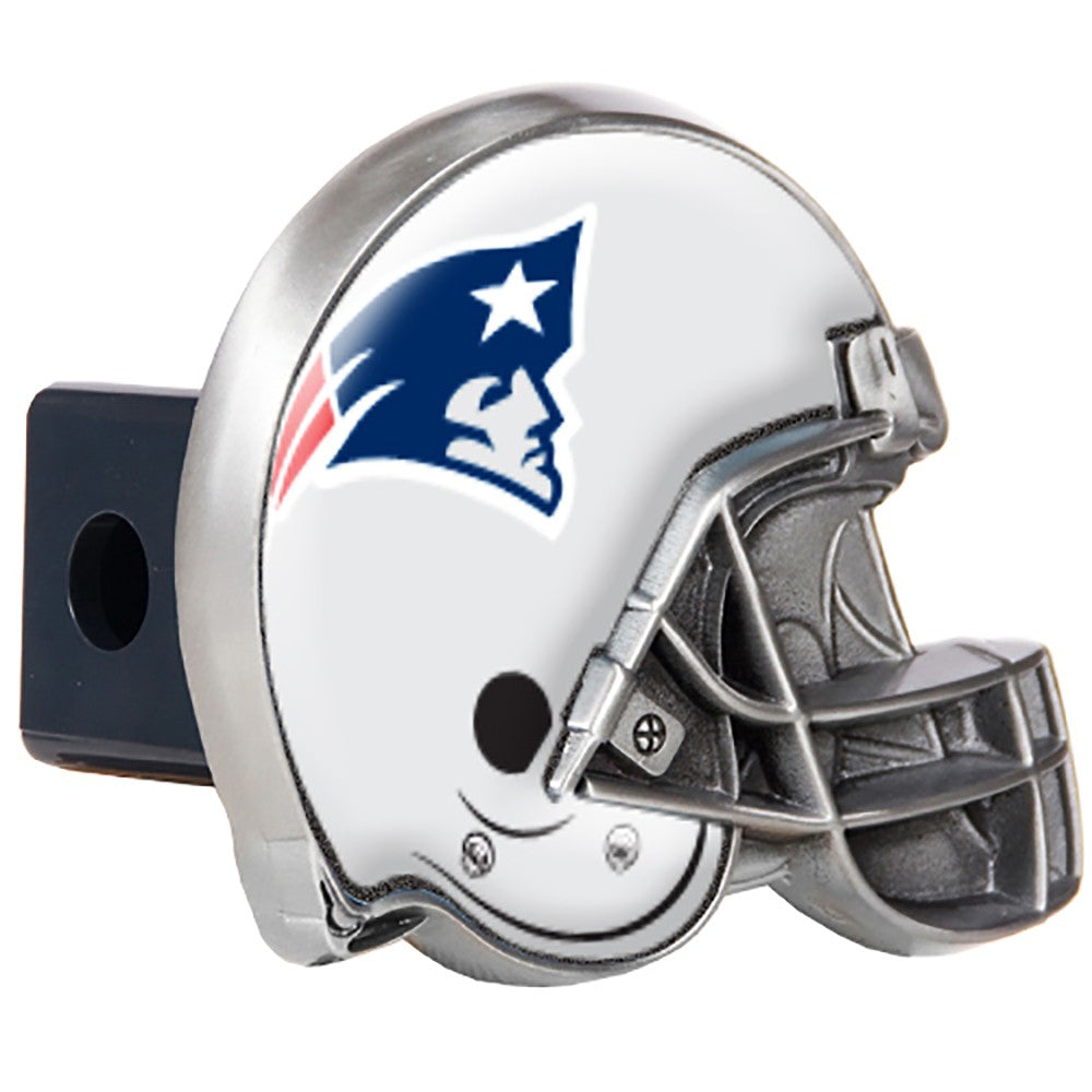 New England Patriots Pewter Hitch Cover