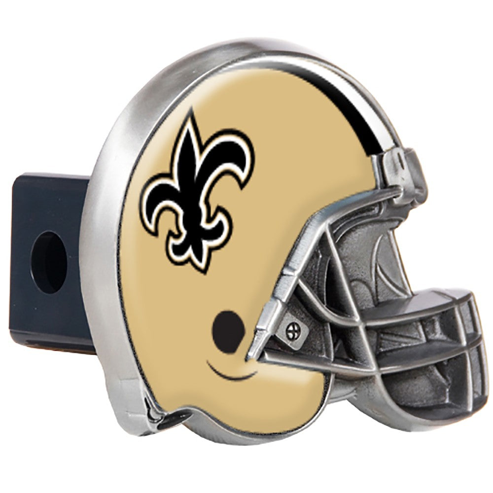 New Orleans Saints Pewter Hitch Cover