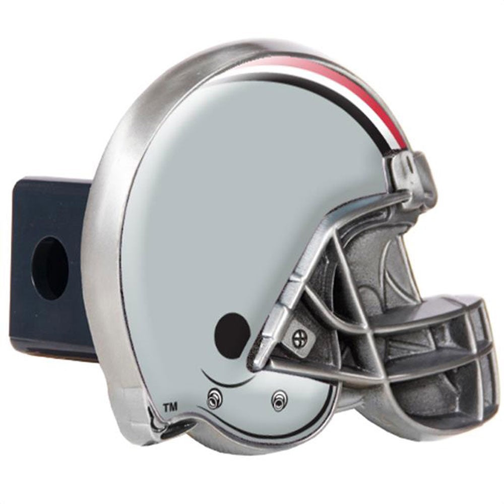 Ohio State Buckeyes Pewter Hitch Cover