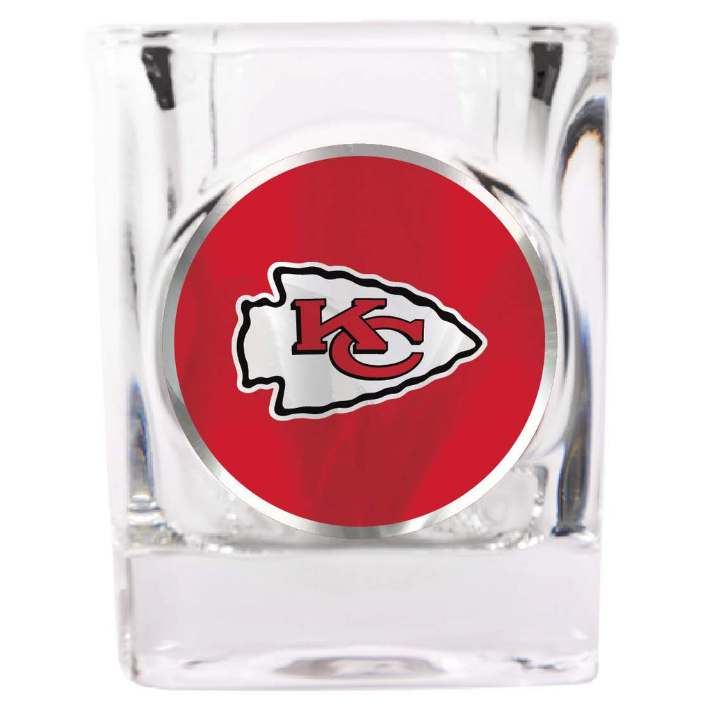 Kansas City Chiefs Square Shot Glass