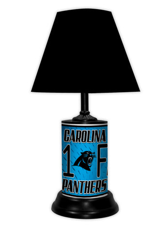 Carolina Panthers #1 Fan Lamp