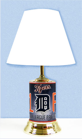 Detroit Tigers #1 Fan Lamp