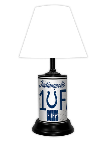 Indianapolis Colts #1 Fan Lamp