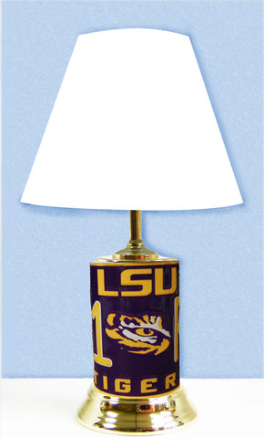 LSU Tigers #1 Fan Lamp