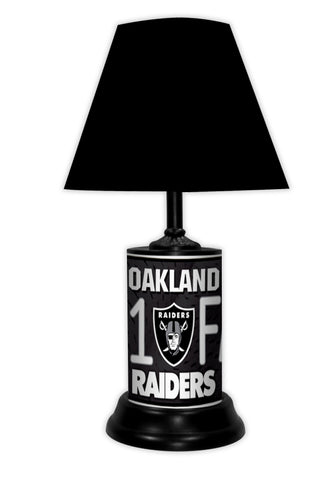 Oakland Raiders #1 Fan Lamp