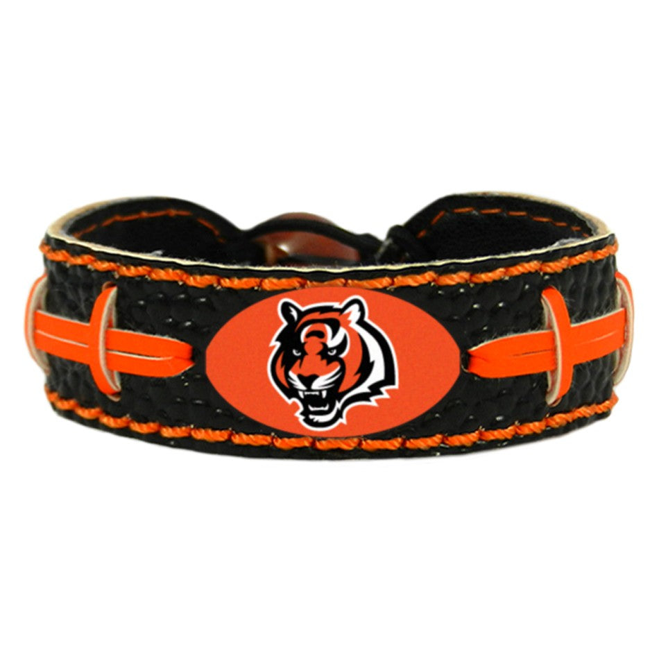 Cincinnati Bengals Bracelet Team Color