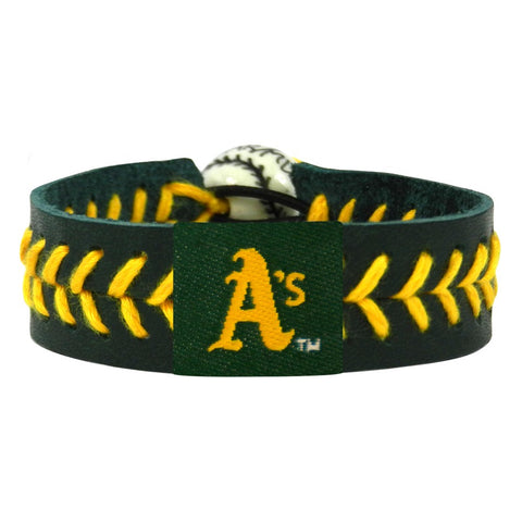 Oakland Athletics Bracelet Team Color