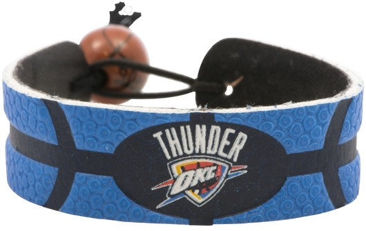 Oklahoma City Thunder Bracelet Team Color