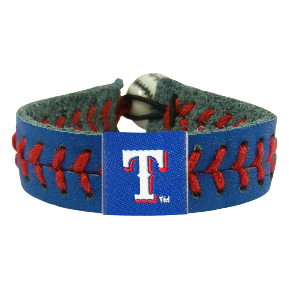 Texas Rangers Bracelet Team Color