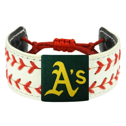 Oakland Athletics Bracelet Two Seamer