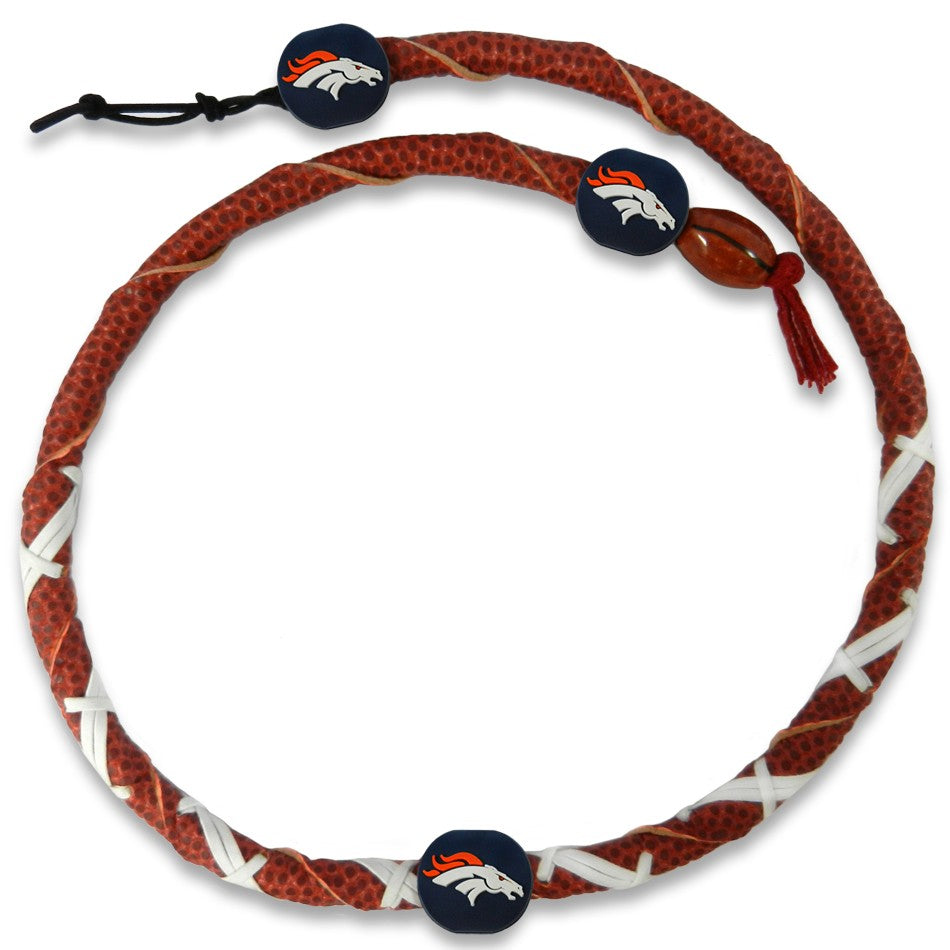Denver Broncos Frozen Rope Necklace
