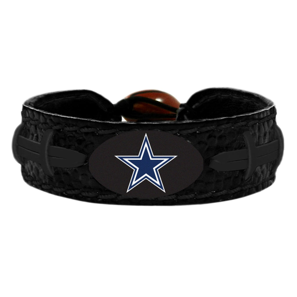 Dallas Cowboys Tonal Black Bracelet