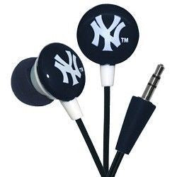 New York Yankees Team Logo Earphones