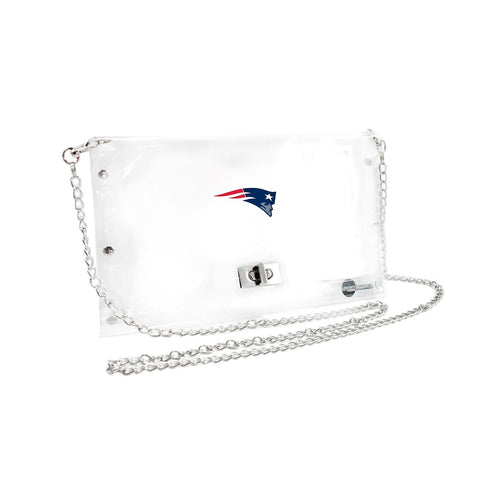 New England Patriots Clear Envelope Purse