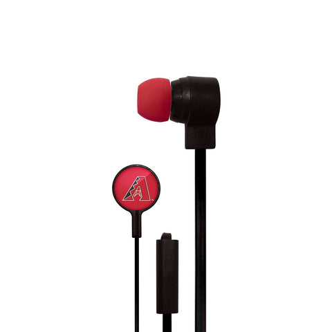 Arizona Diamondbacks Slim Hands Free Ear Buds
