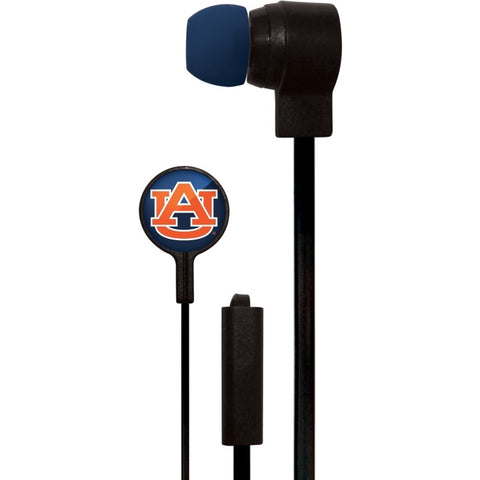 Auburn Tigers Slim Hands Free Ear Buds