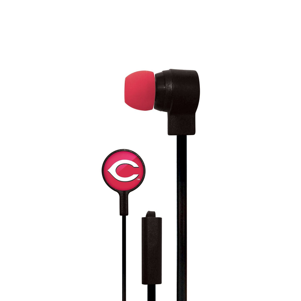 Cincinnati Reds Slim Hands Free Ear Buds