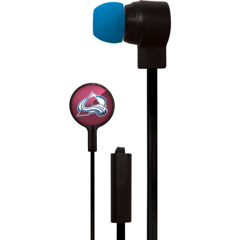 Colorado Avalanche Slim Hands Free Ear Buds