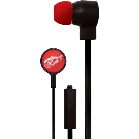 Detroit Red Wings Slim Hands Free Ear Buds