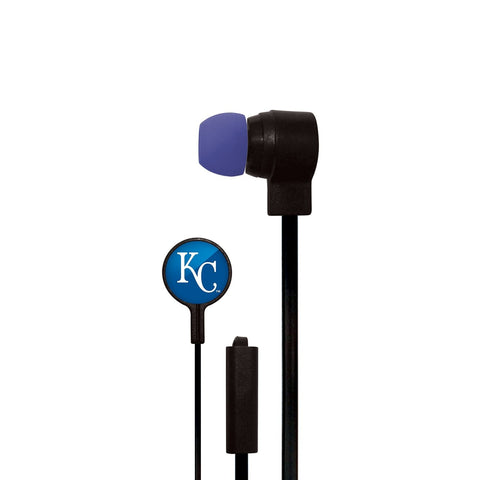 Kansas City Royals Slim Hands Free Ear Buds