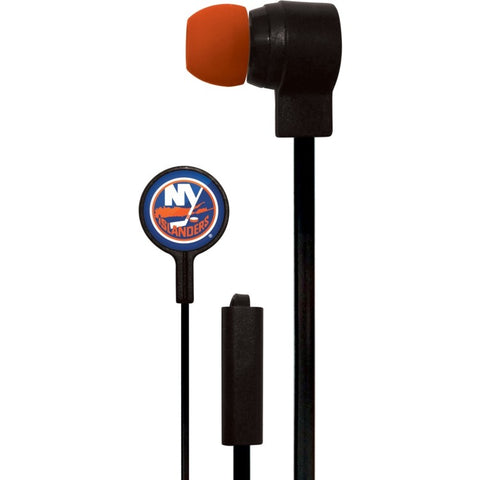 New York Islanders Slim Hands Free Ear Buds