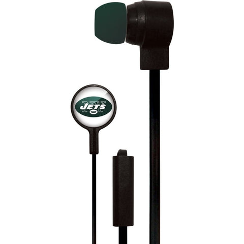 New York Jets Slim Hands Free Ear Buds