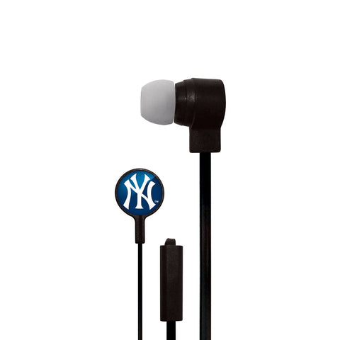 New York Yankees Slim Hands Free Ear Buds