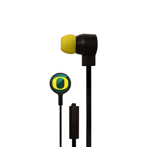 Oregon Ducks Slim Hands Free Ear Buds