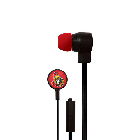 Ottawa Senators Slim Hands Free Ear Buds