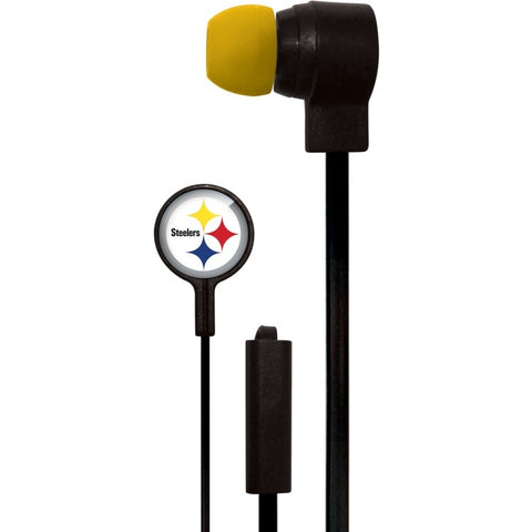 Pittsburgh Steelers Slim Hands Free Ear Buds