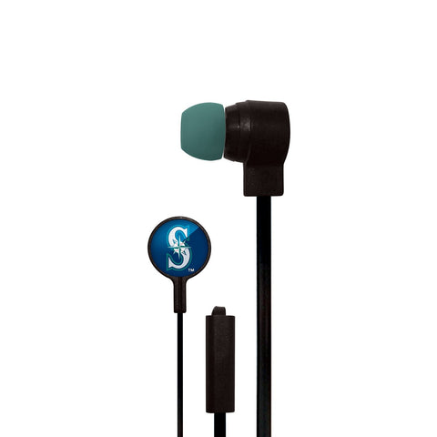 Seattle Mariners Slim Hands Free Ear Buds