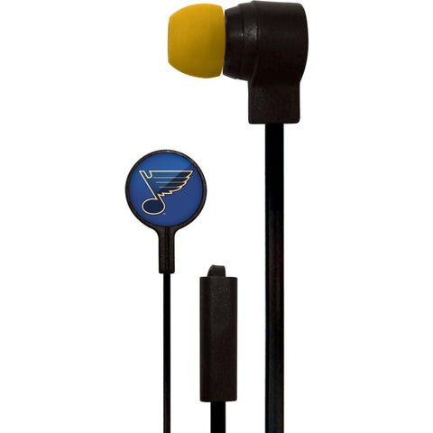 St. Louis Blues Slim Hands Free Ear Buds
