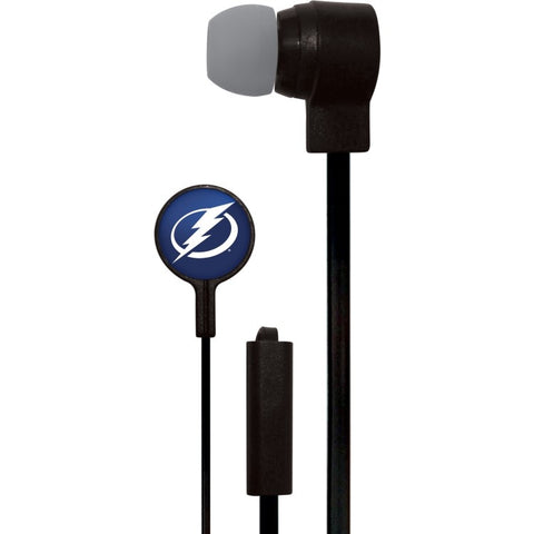 Tampa Bay Lightning Slim Hands Free Ear Buds