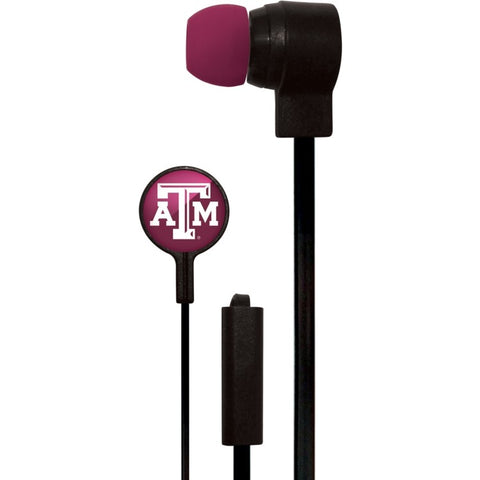 Texas A&M Aggies Slim Hands Free Ear Buds