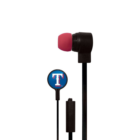 Texas Rangers Slim Hands Free Ear Buds