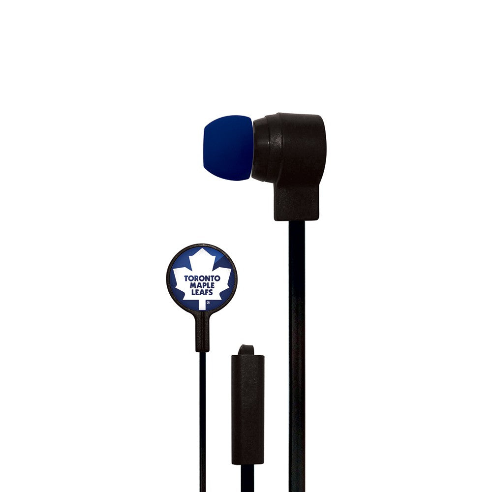 Toronto Maple Leafs Slim Hands Free Ear Buds