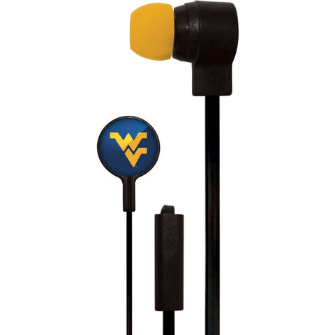 West Virginia Mountaineers Slim Hands Free Ear Buds