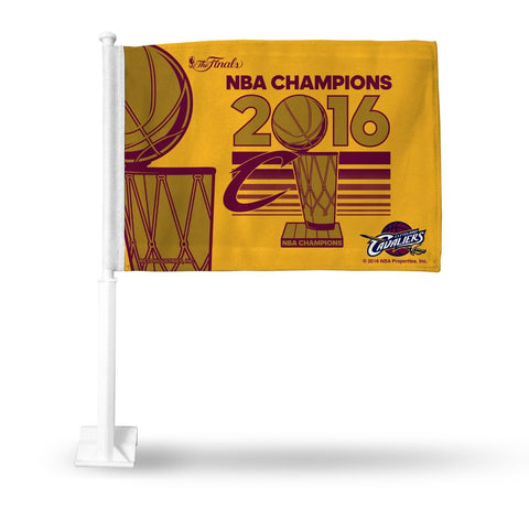 Cleveland Cavaliers 2016 NBA Champions Car Flag