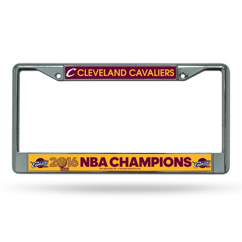 Cleveland Cavaliers 2016 NBA Champions License Plate Frame