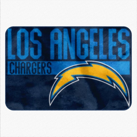 "Los Angeles Chargers 20"" x 30"" Worn Out Printed Foam Mat"
